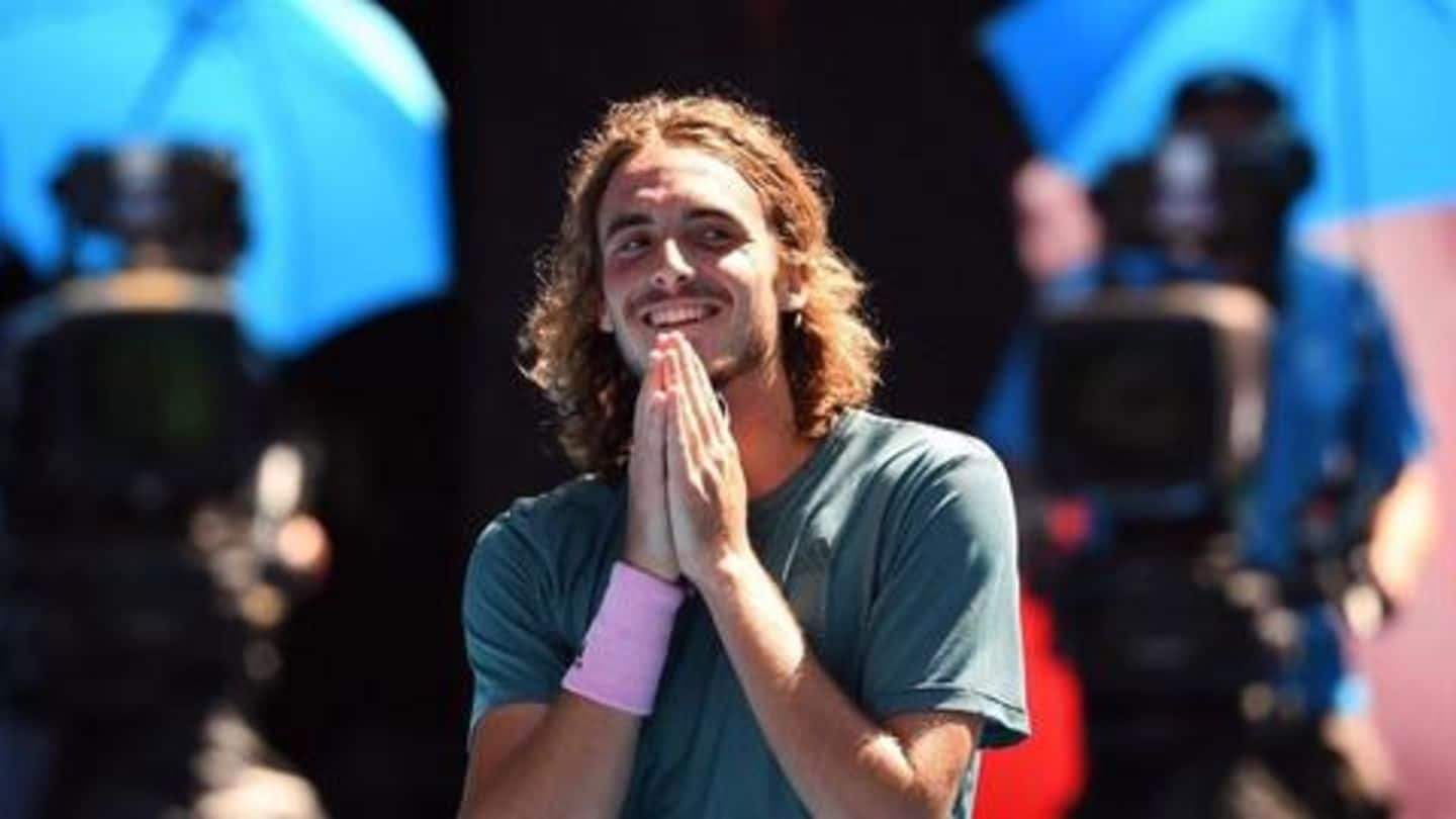 Australian Open 2019: Stefanos Tsitsipas continues to make rapid strides