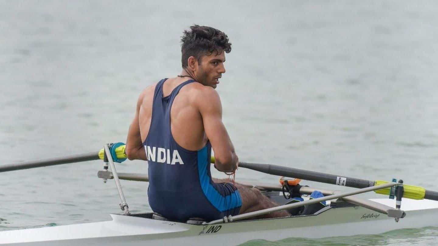 #MeetTheMedalists: All about rowing star Dushyant Singh