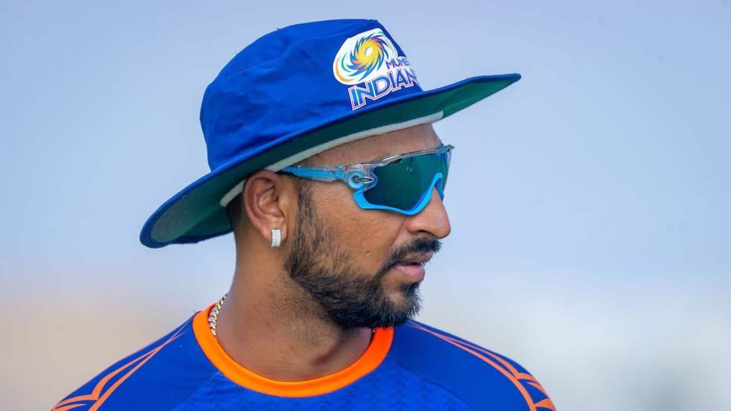 Cricketer Krunal Pandya detained at Mumbai airport for allegedly carrying undisclosed gold