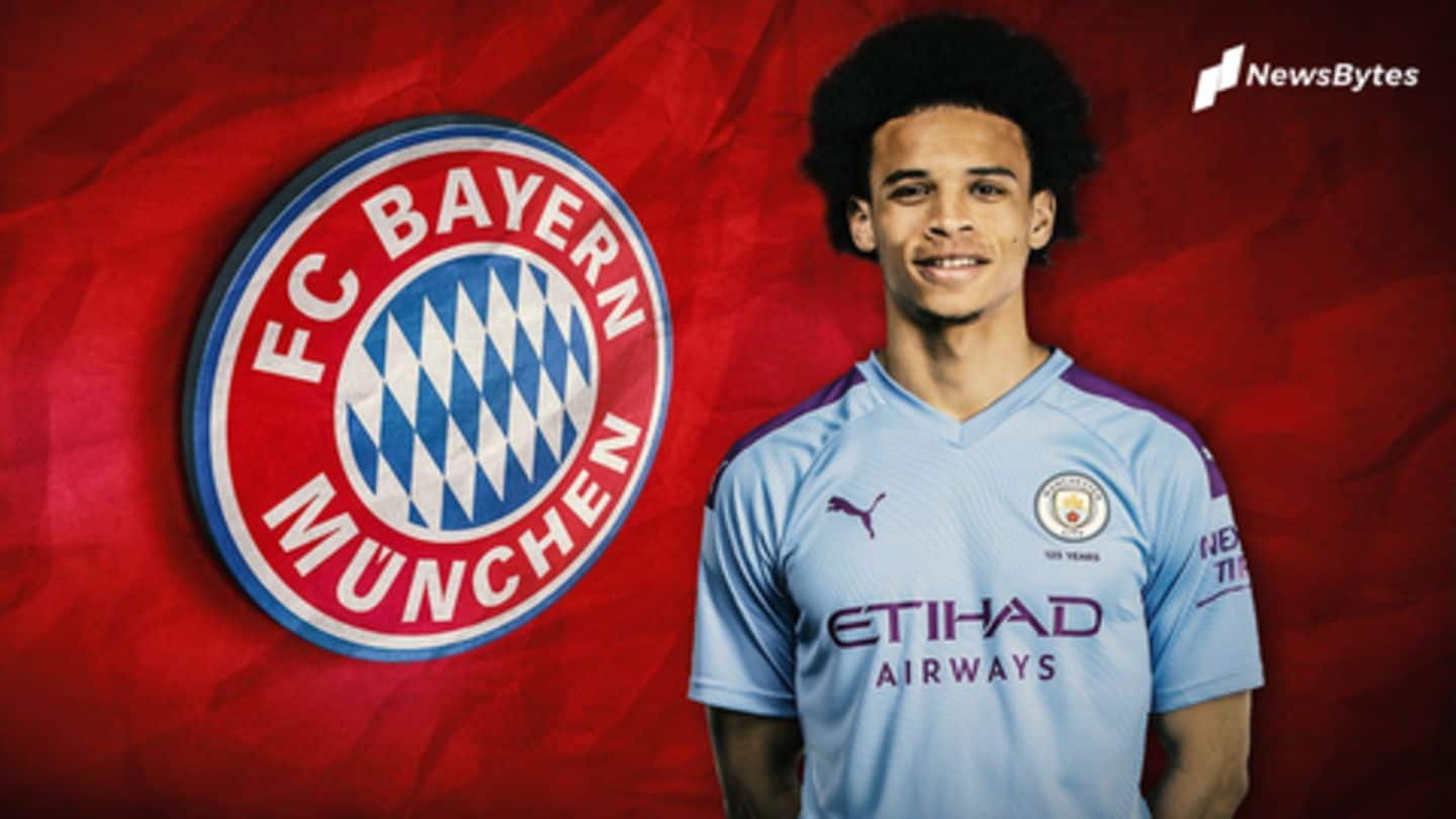 Manchester City stand firm in their valuation of Leroy Sane