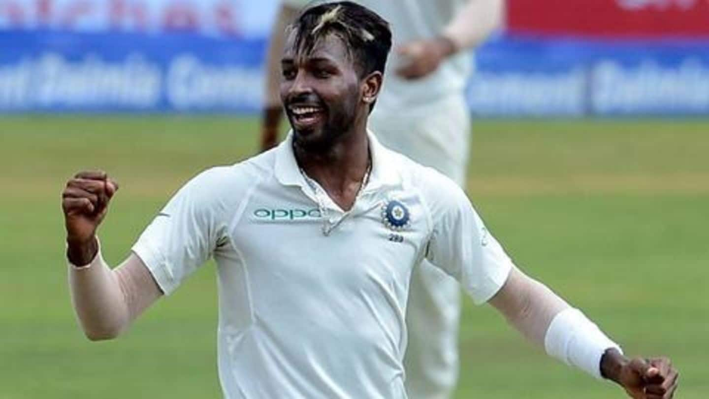 Hardik Pandya takes a five-for on return from injury