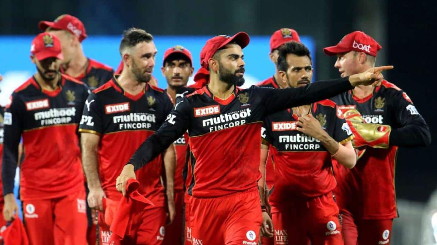 RCB players and staff leave for home via charter flight