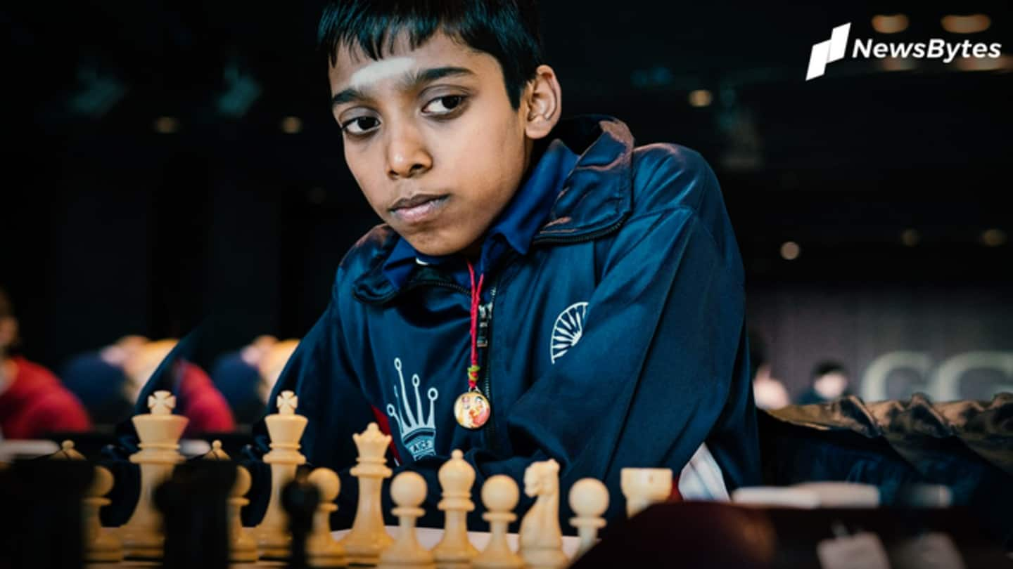 FIDE Online Chess Olympiad: R Praggnanandhaa shines for India