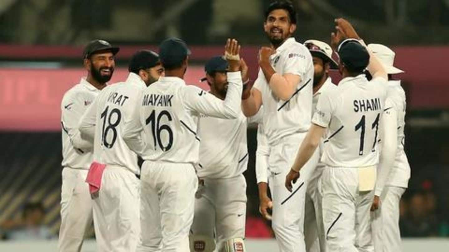 India beat Bangladesh: Script history by completing four-successive innings wins