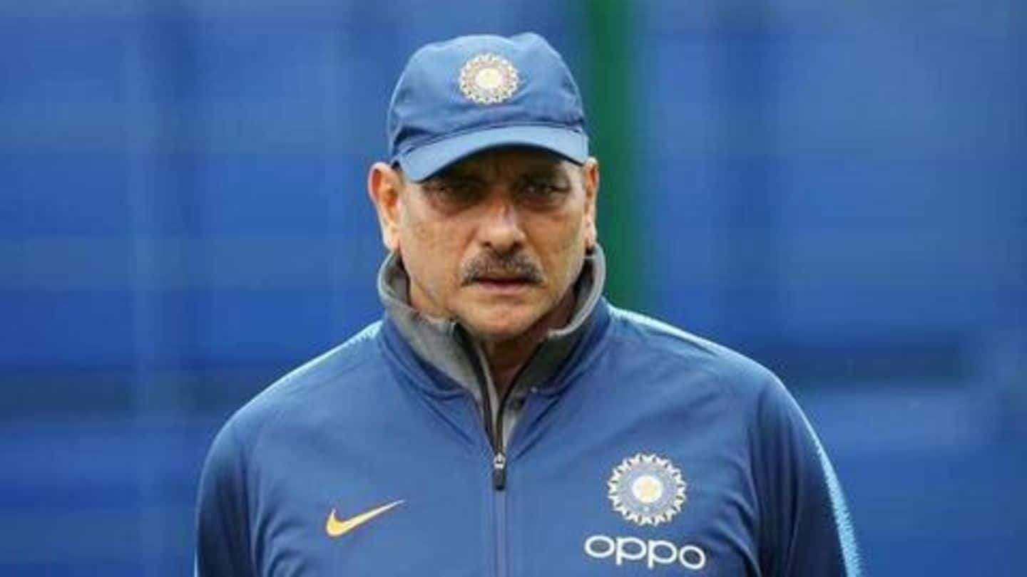 Shastri wants to build on youth during Team India's transition