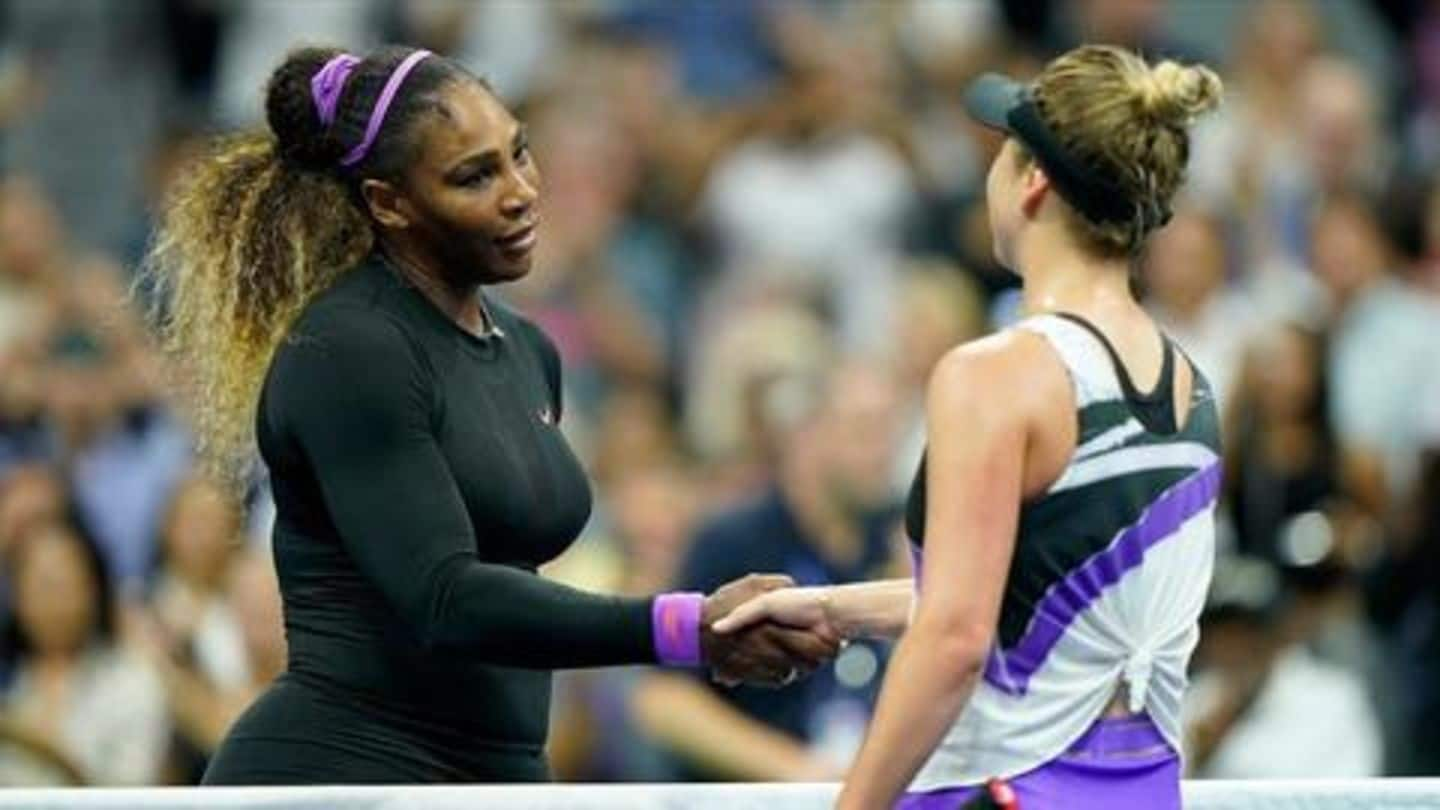 US Open 2019: Serena to face Andreescu in finale