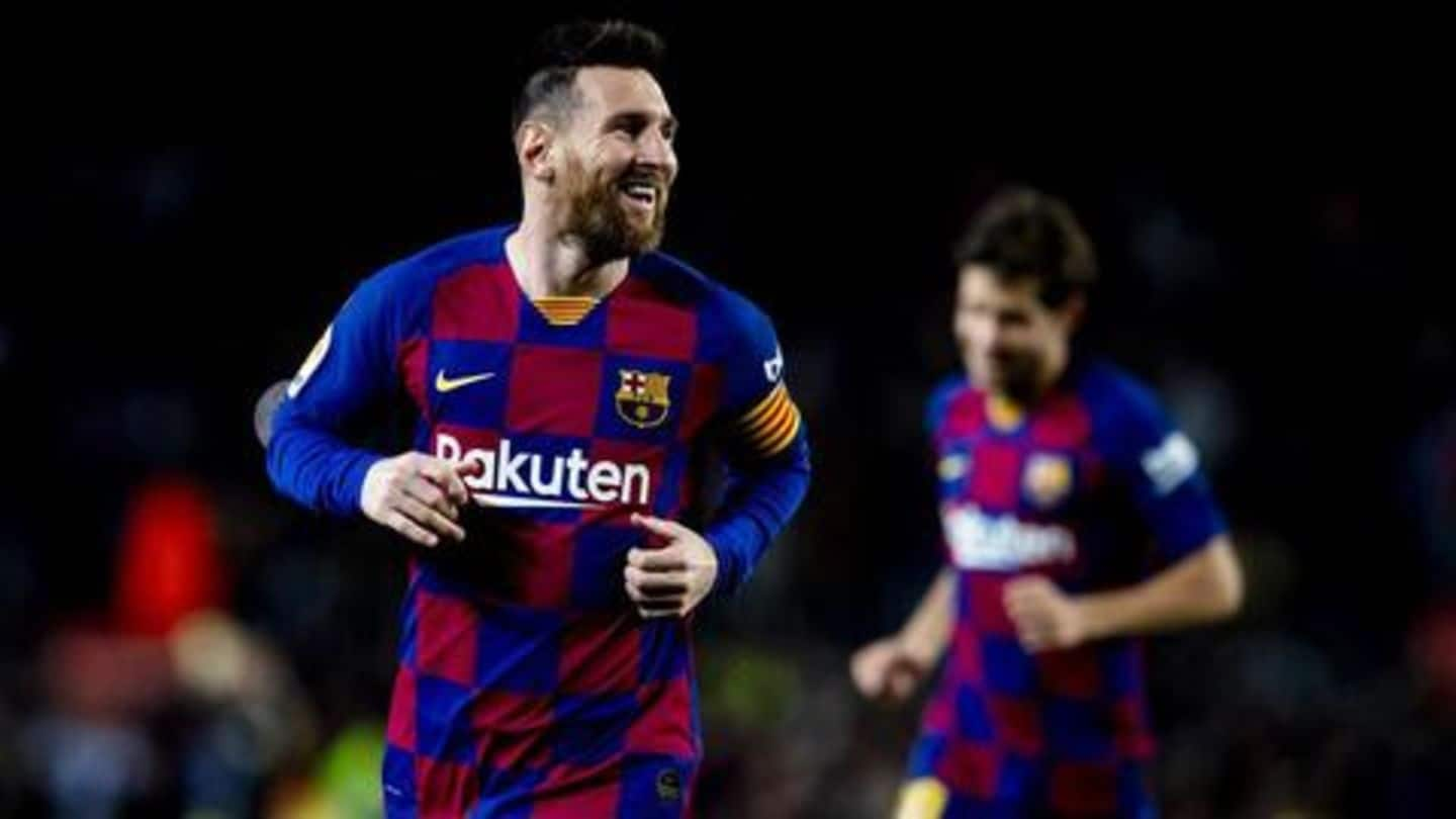 Lionel Messi equals Cristiano Ronaldo with this record: Details here