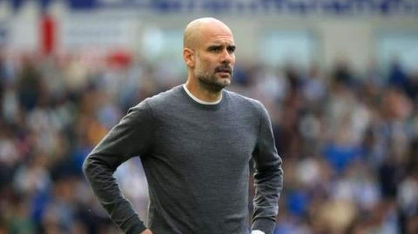 We forget they are human: Guardiola defends Man City players