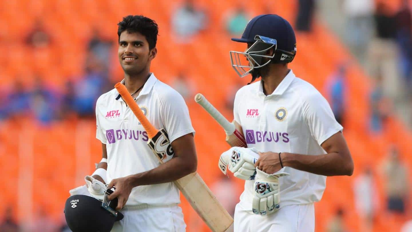 India vs England: Decoding Washington Sundar's rise as a batsman