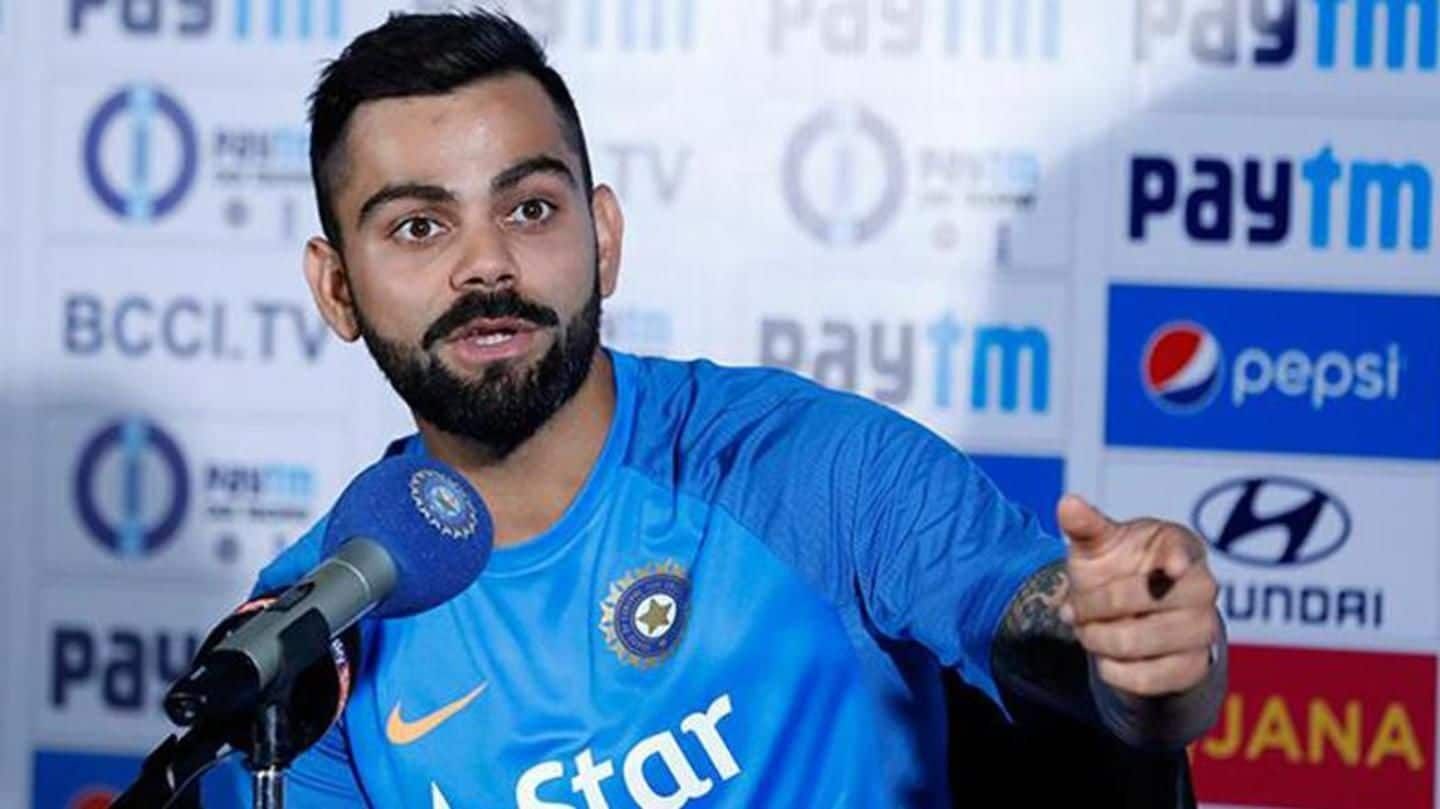 INDvsWI: Here's how Kohli reacted about Karun Nair's omission