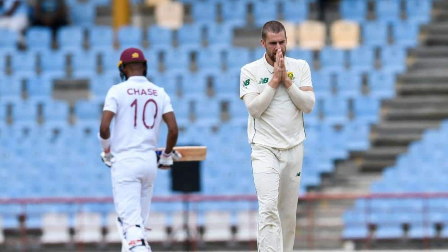 1st Test, South Africa beat West Indies: Records broken