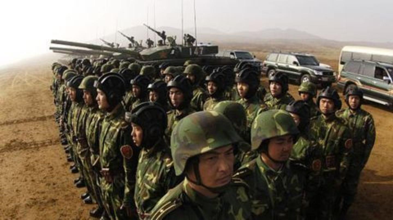 China conducts military drills near Aksai Chin