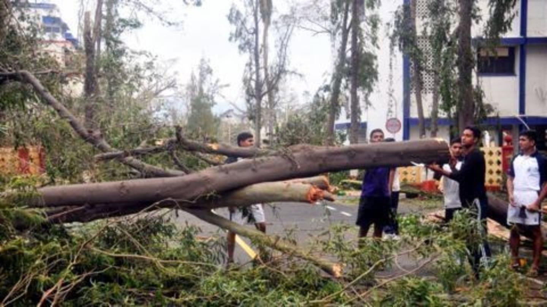 Cyclone Vardah leaves Chennai with health concerns
