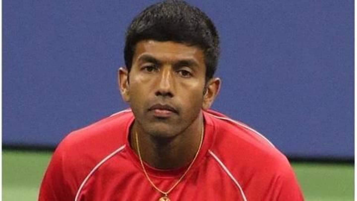 Bopanna unhappy after exclusion from Davis Cup team