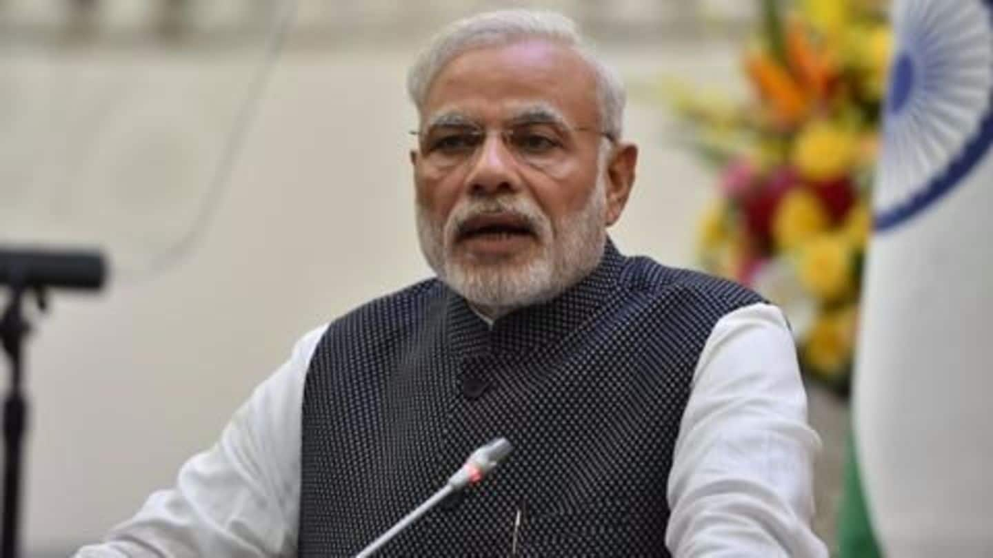 PM Modi lays foundation stone of Char Dham project