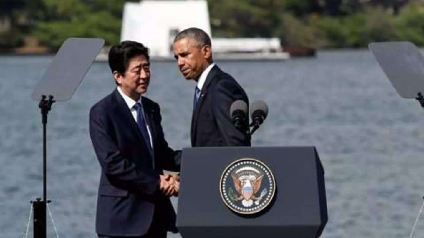 Must never repeat horrors of war, vows Shinzo Abe