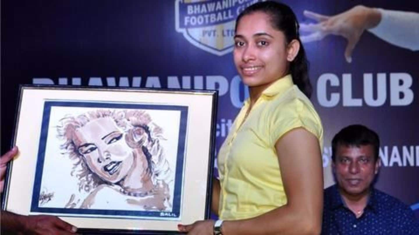 Dipa Karmakar buys new car after returning the BMW