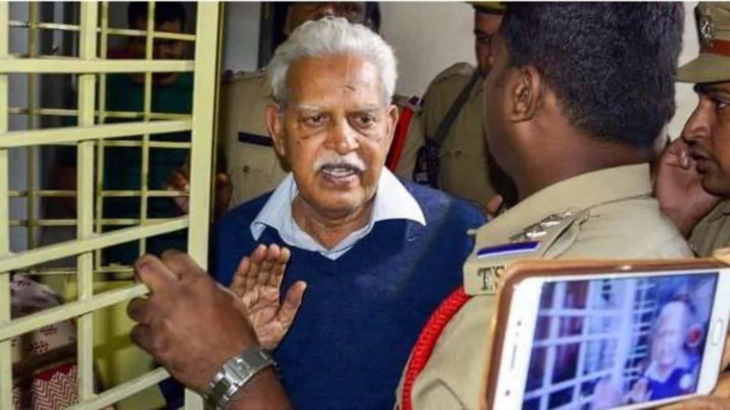 Bhima-Koregaon case: Rao says fight against fascist policies not conspiracy