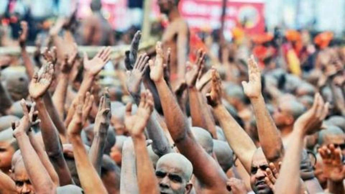 10,000 people, including engineers, board toppers becoming Naga sadhus