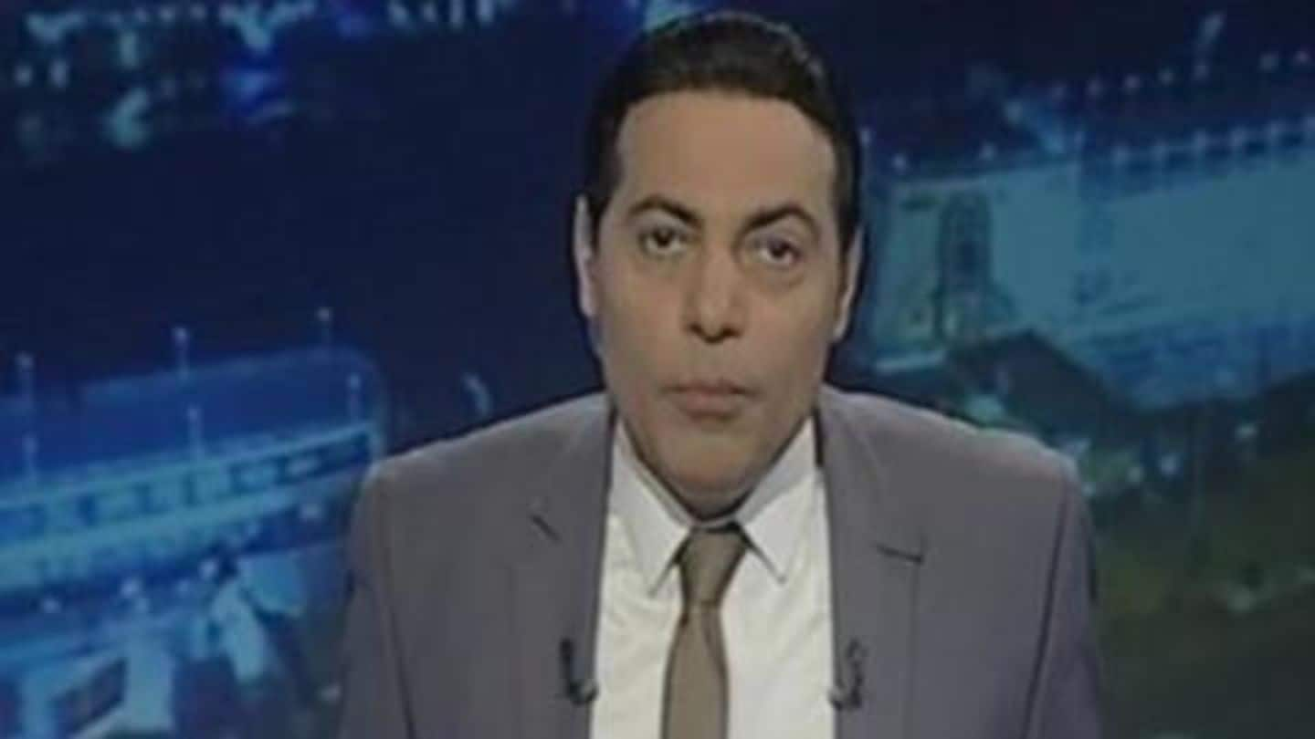 Egyptian TV host interviews gay man, sentenced to jail, penalized
