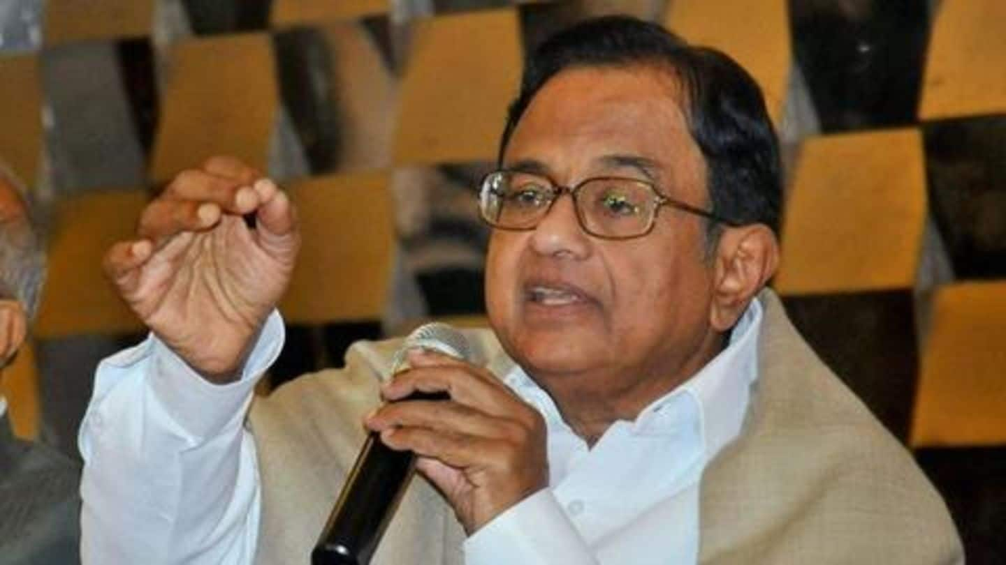 Chidambaram asks what's government's 'tearing hurry' to 'fix' RBI capital-framework