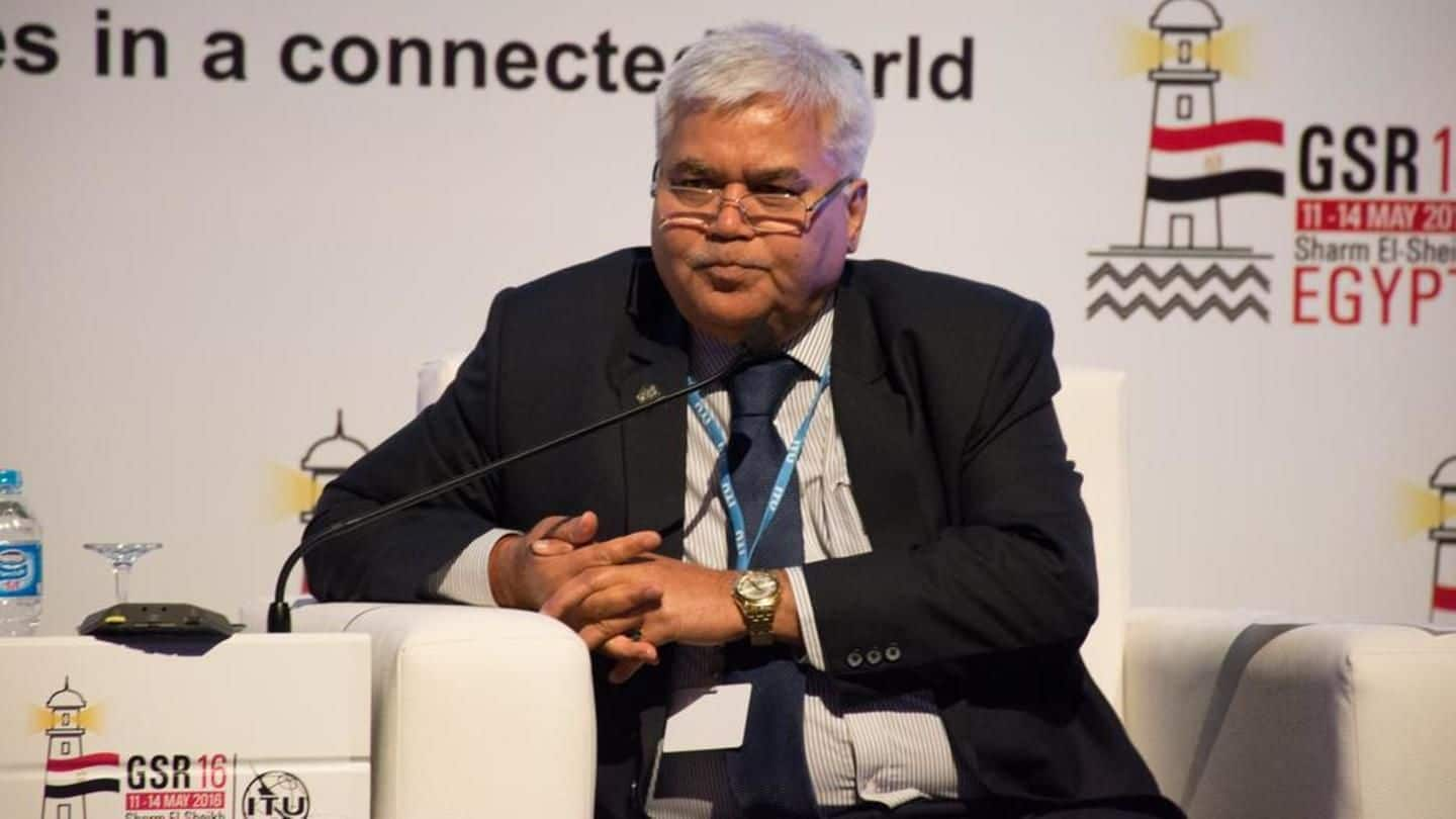 Ram Sewak Sharma gets two-year extension as TRAI chief