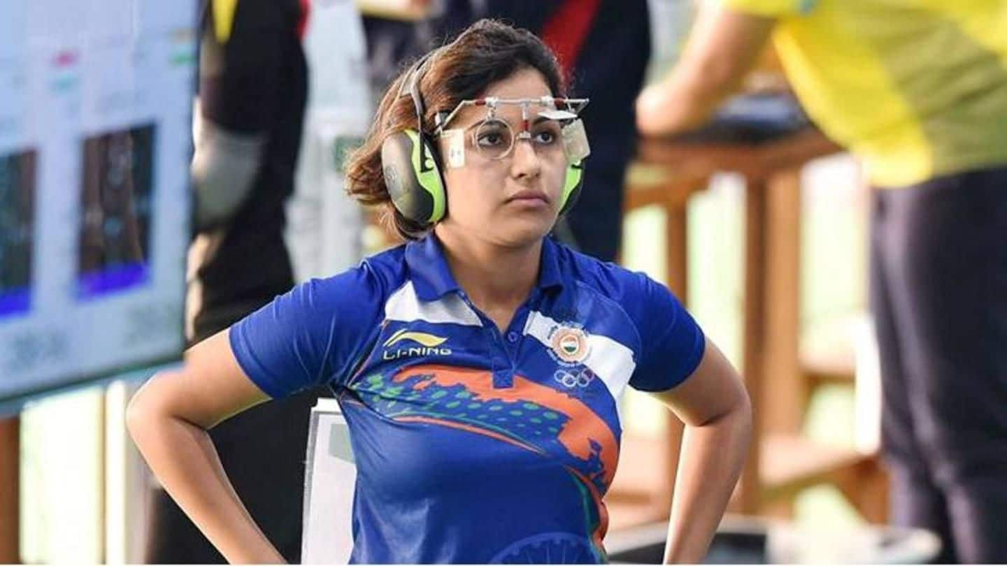 #AsianGames: Shooter Heena Sidhu claims bronze; heartbreak for 16-year-old Manu