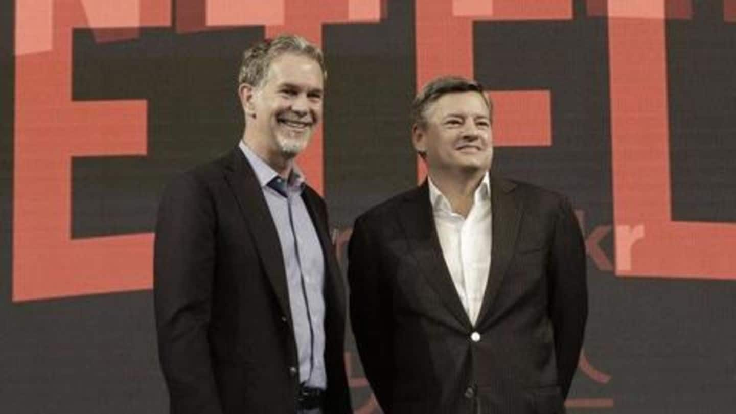 Here's what Netflix executives will earn in 2019. It's huge!