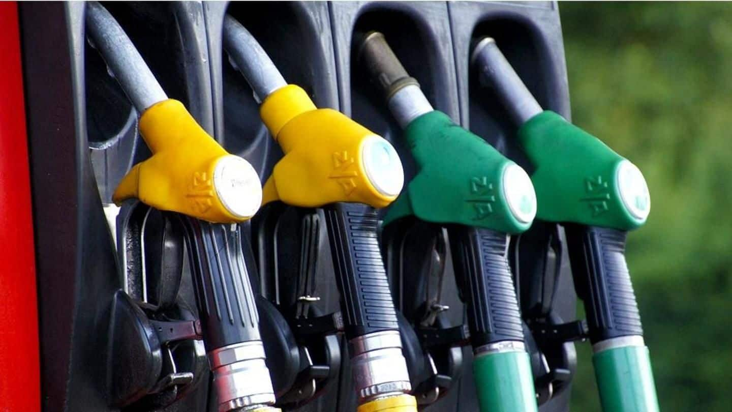 Petrol, diesel prices hiked for first time after a month