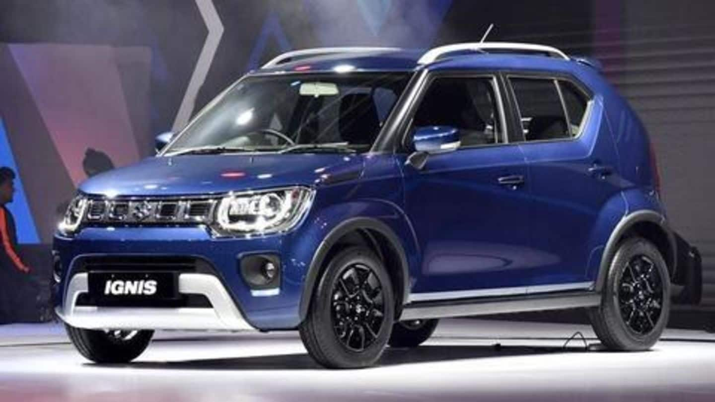 Maruti Suzuki launches 2020 Ignis hatchback at Rs. 4.9 lakh