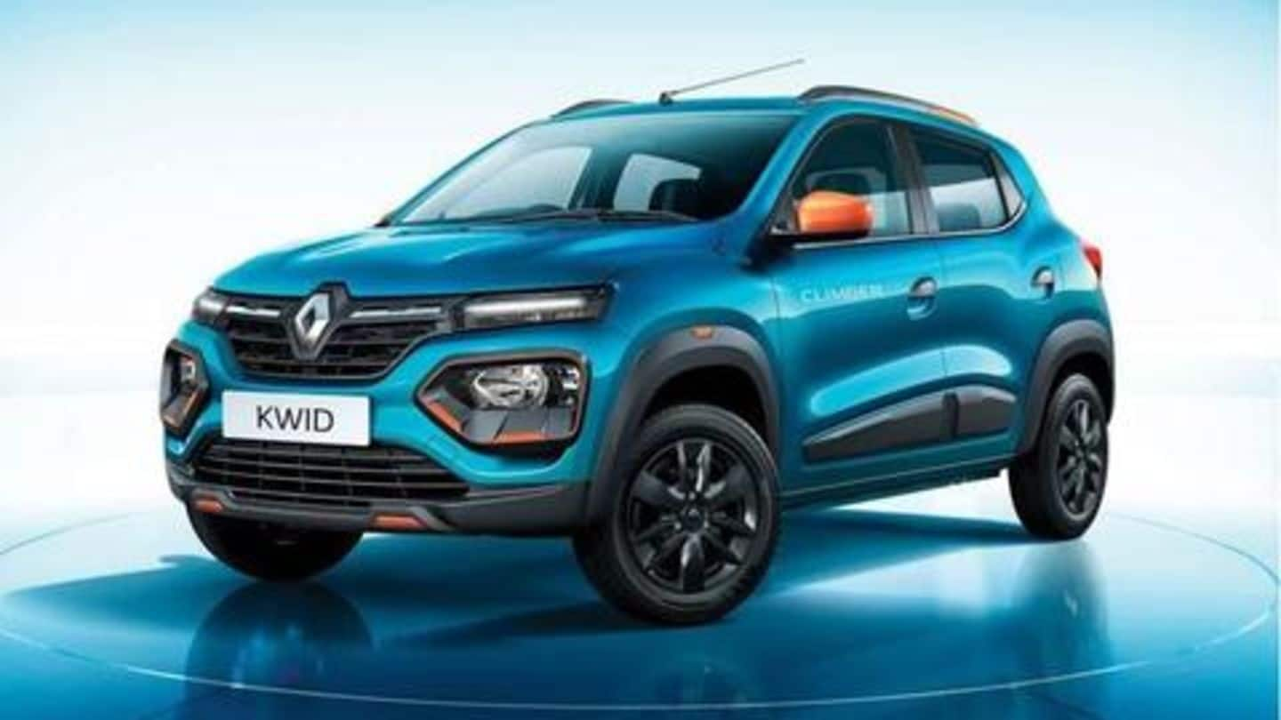 2019 Renault KWID launched in India at Rs. 2.83 lakh
