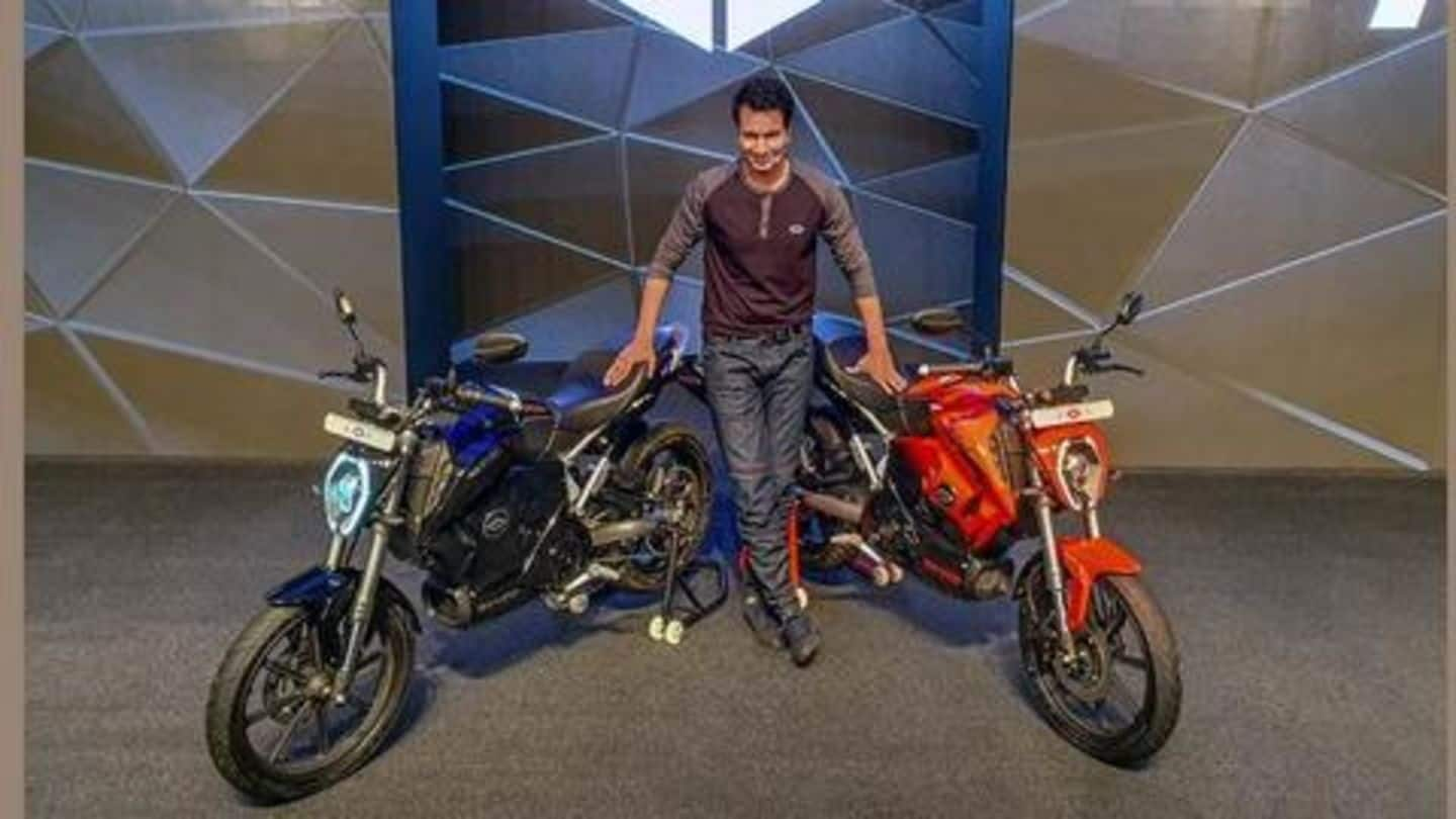 Revolt launches India's first artificial intelligence-enabled bikes