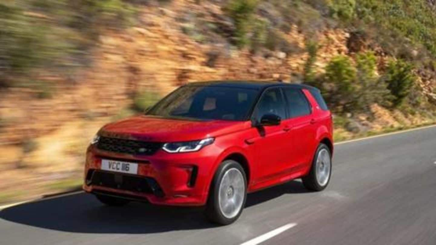 Land Rover Discovery Sport (facelift) launched at Rs. 57.06 lakh