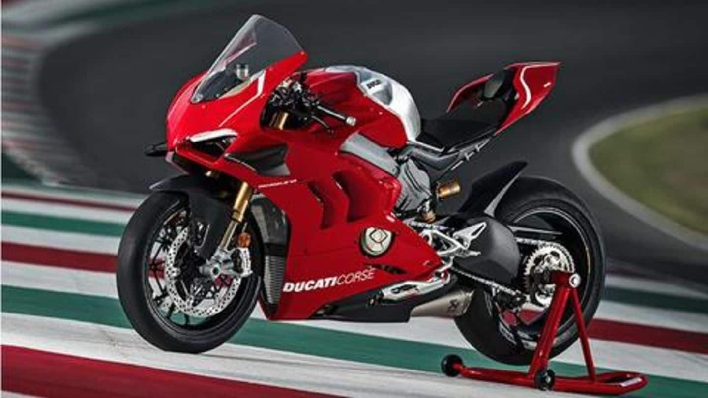 Ducati Panigale V4 Superleggera to be launched in 2020