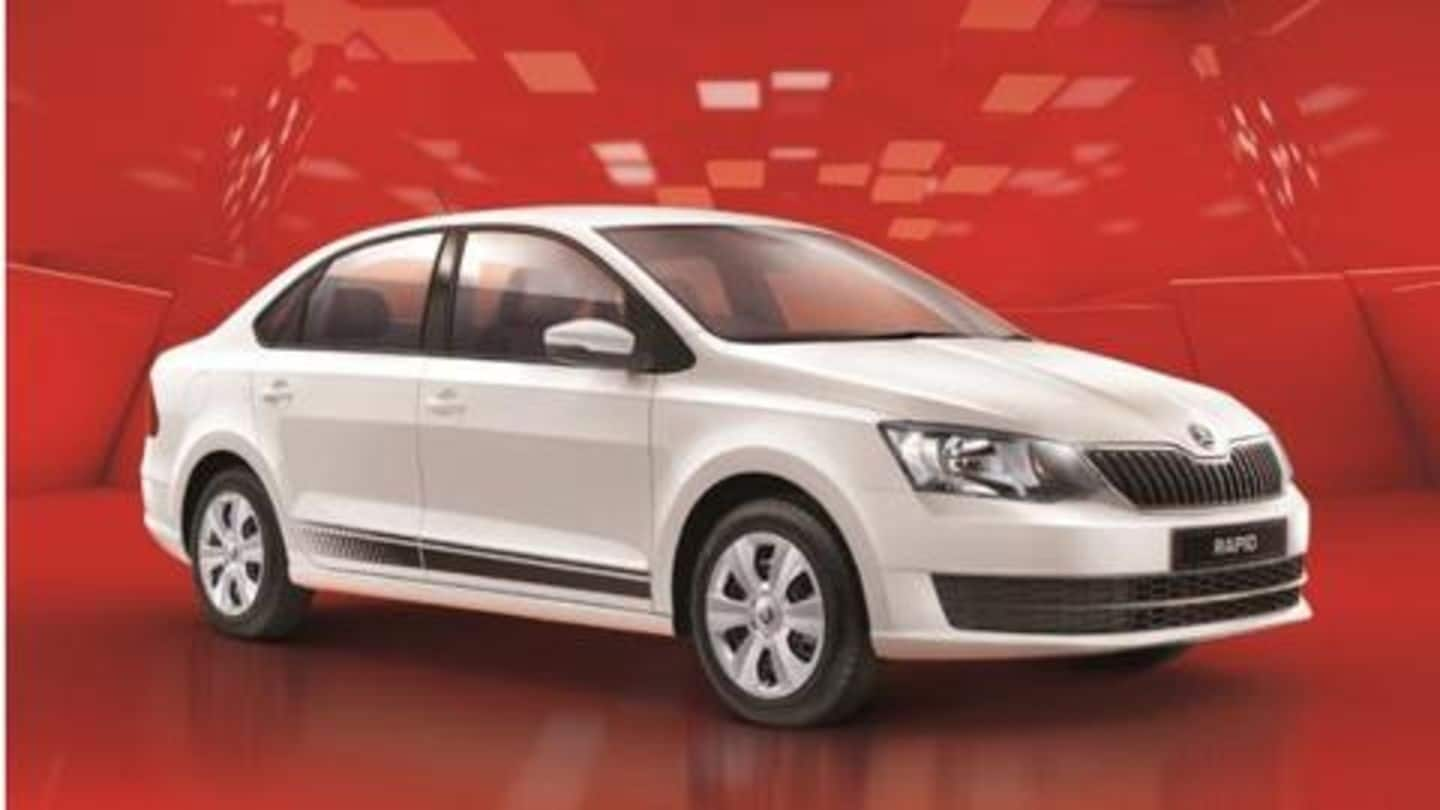 Skoda Rapid Rider launched in India at Rs. 7 lakh