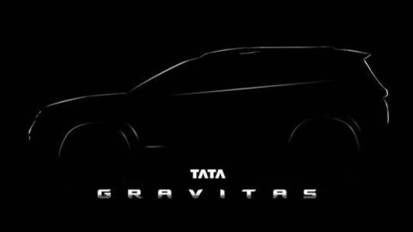 Tata's seven-seater SUV, the Gravitas, to be launched in 2020