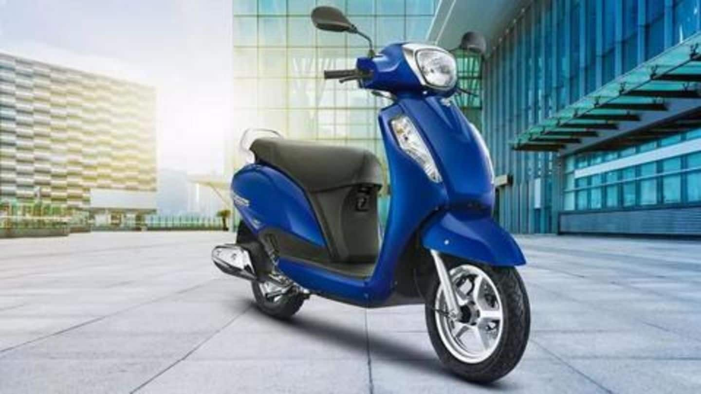 Suzuki introduces a new variant of Access 125: Details here