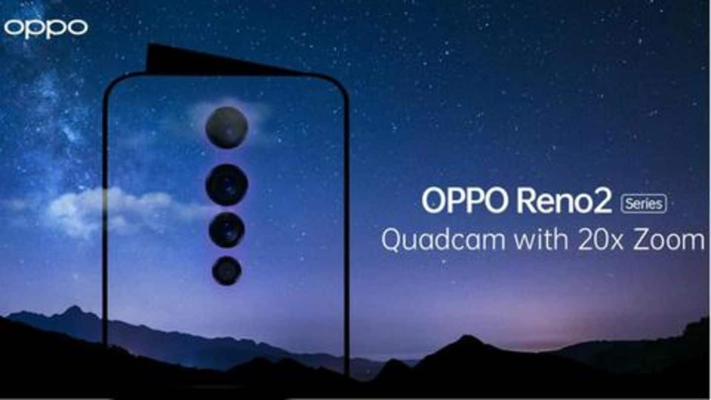 OPPO Reno 2 to be launched on August 28