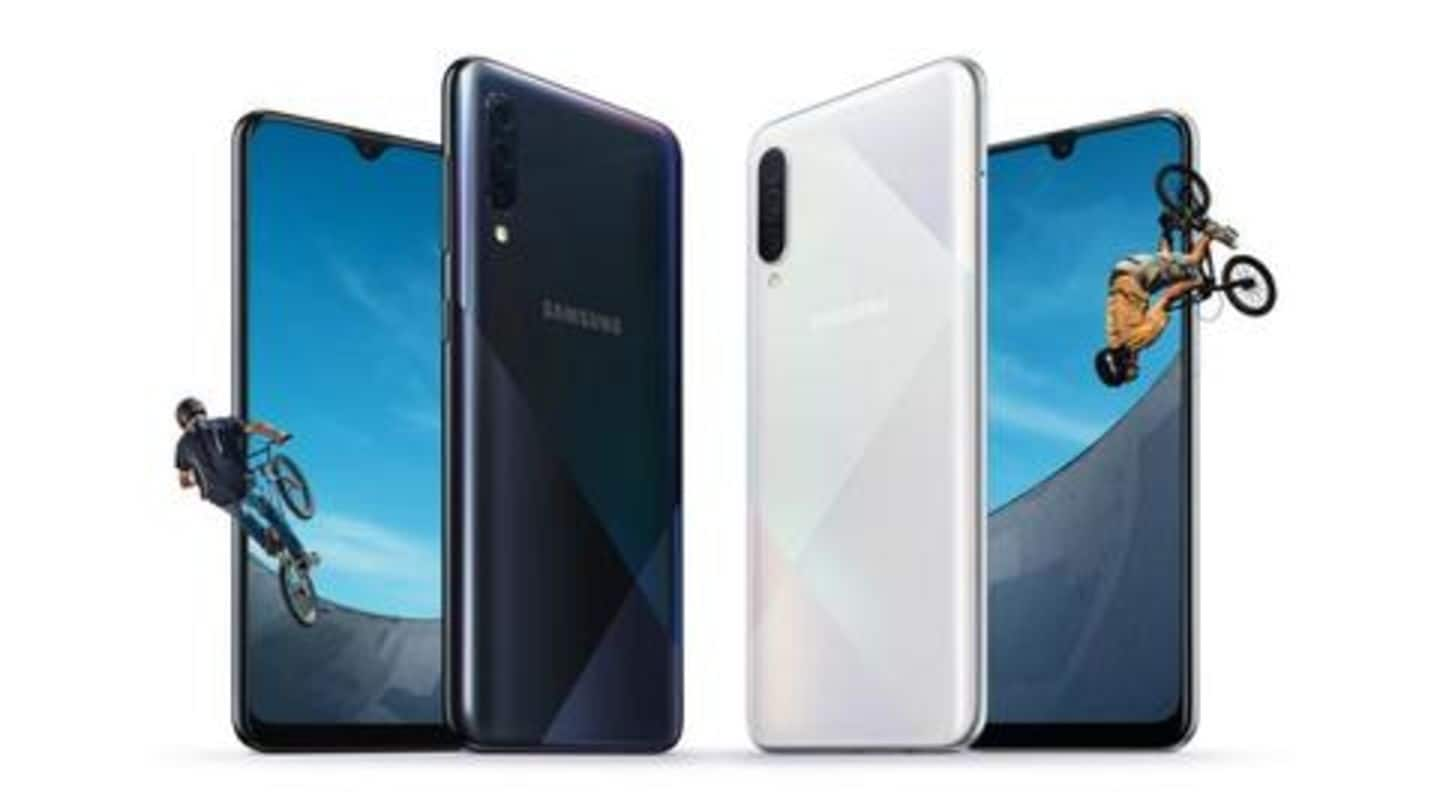 Samsung Galaxy A50s, Galaxy A30s announced: Here's everything to know