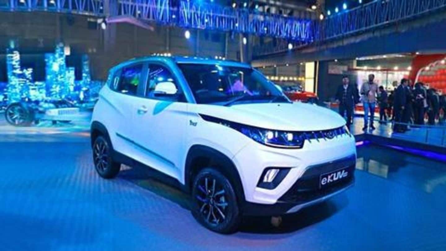Auto Expo 2020: Mahindra launches most affordable electric car