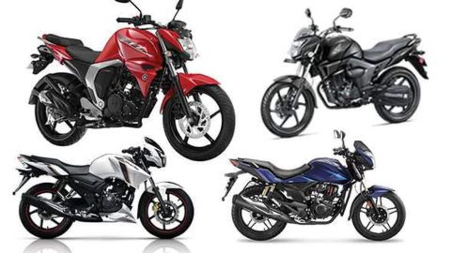Top 5 motorcycles available under Rs. 1 lakh