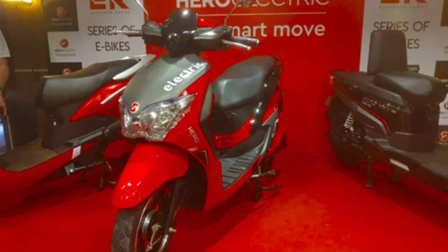Hero Electric launches Dash e-scooter for Rs. 62,000
