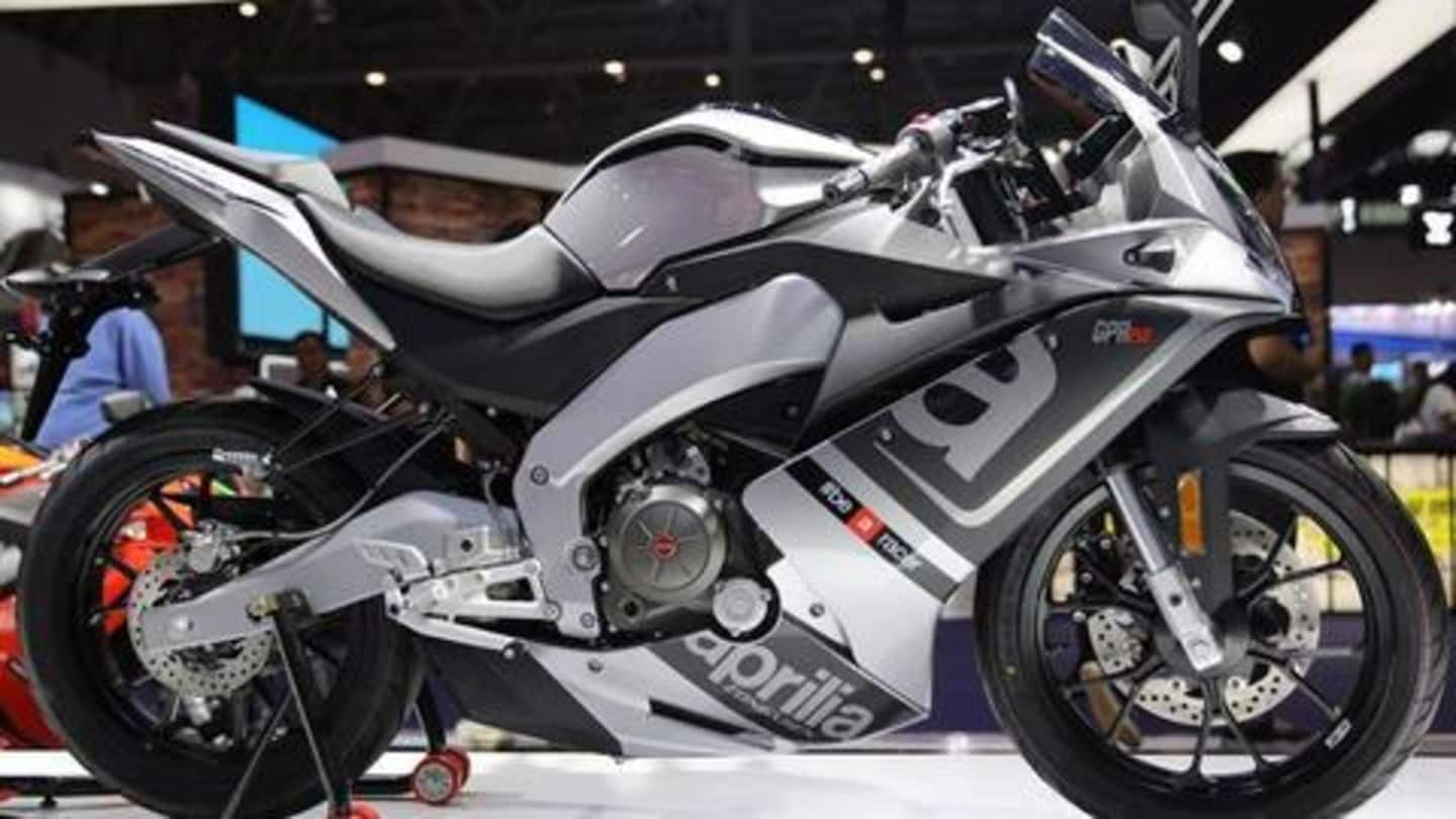 India-bound Aprilia GPR 250 superbike unveiled: Details here