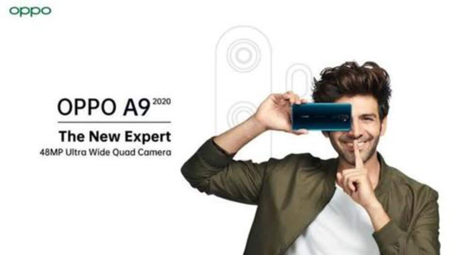 OPPO A9 2020 to launch in India on September 16