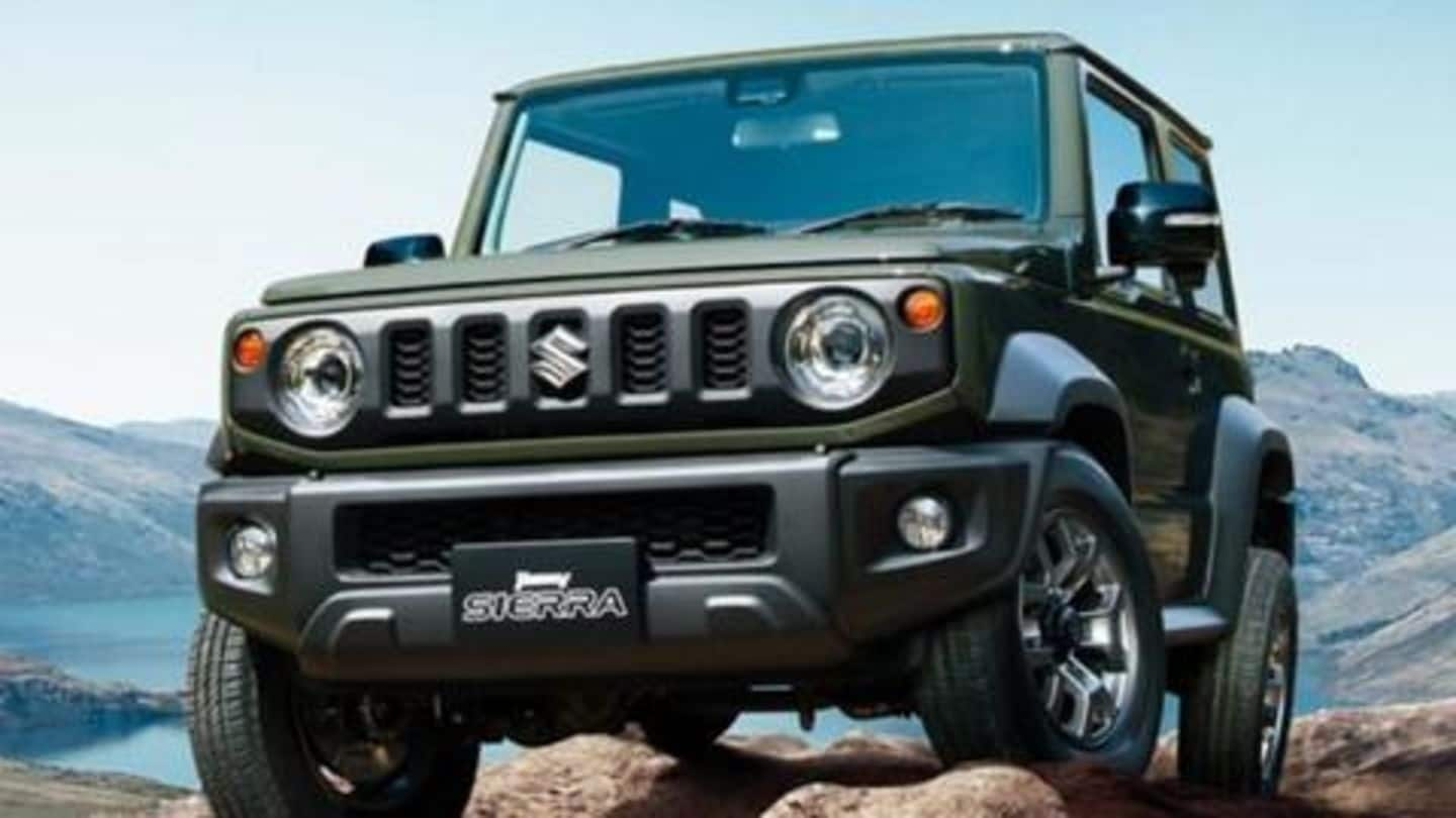 Maruti Suzuki Jimny to be launched in India by November