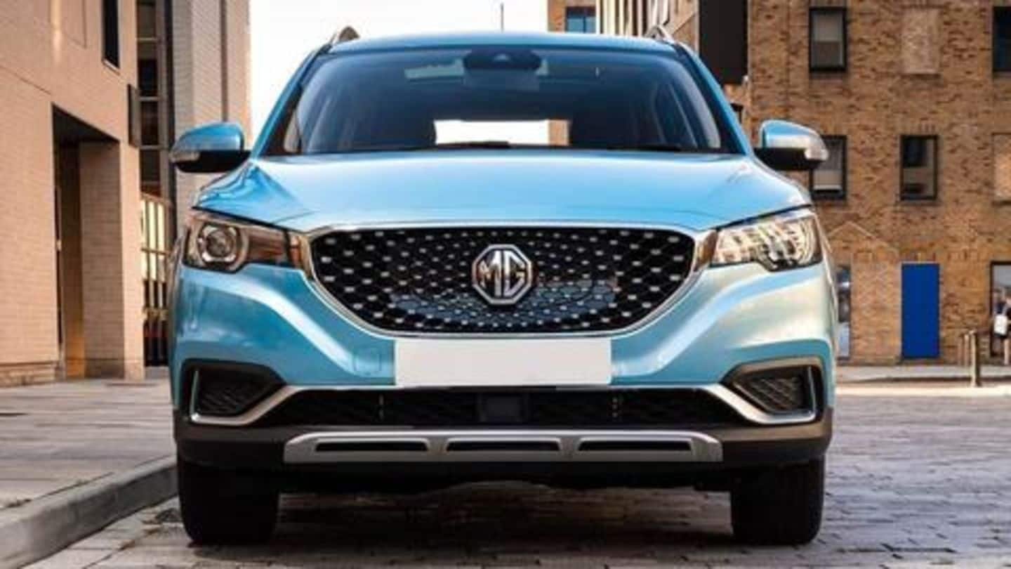 India-specific MG ZS EV to be unveiled on December 5