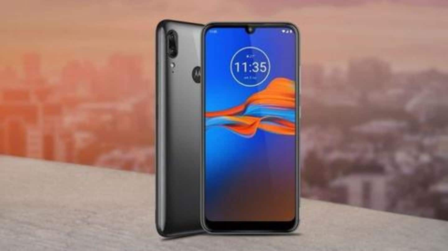 Moto E6s to go on sale in India starting today