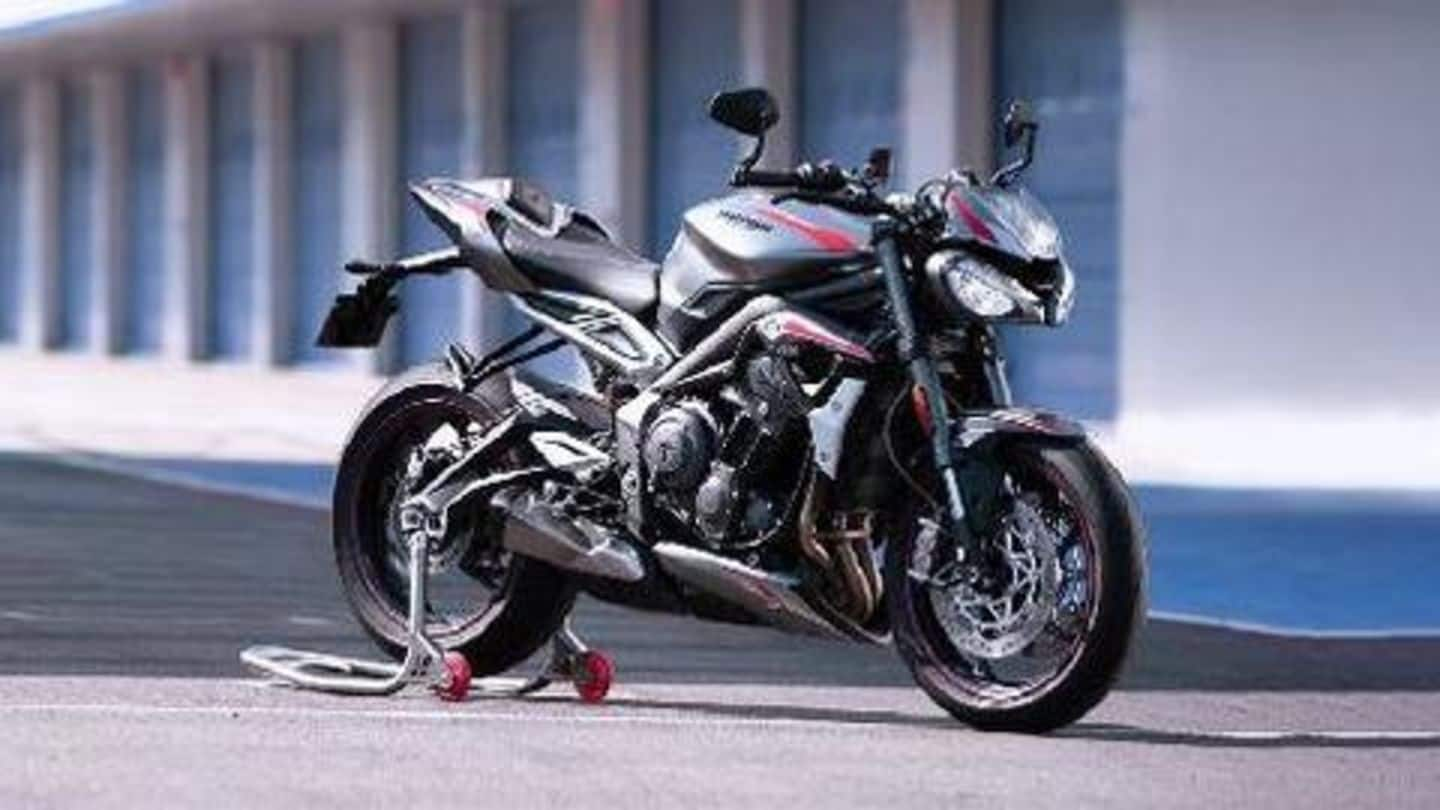 Triumph to launch 2020 Street Triple RS on March 25