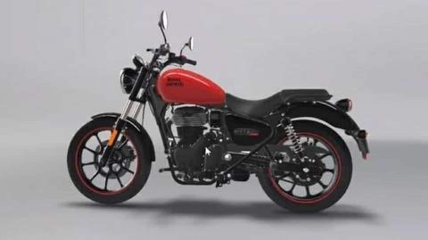 Royal Enfield Meteor 350 Fireball's images and price leaked