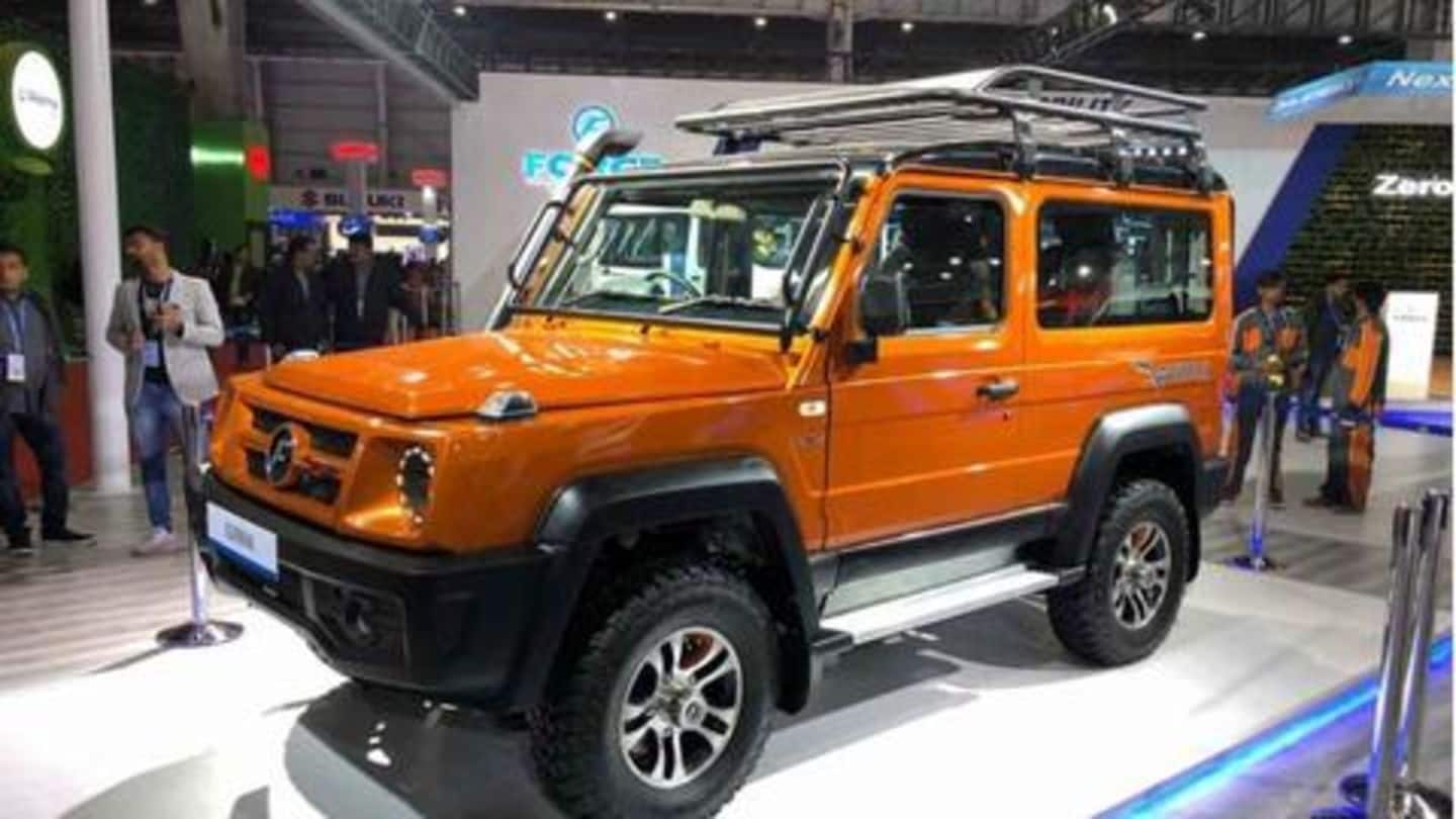 Auto Expo 2020: BS6-compliant Force Gurkha unveiled in India